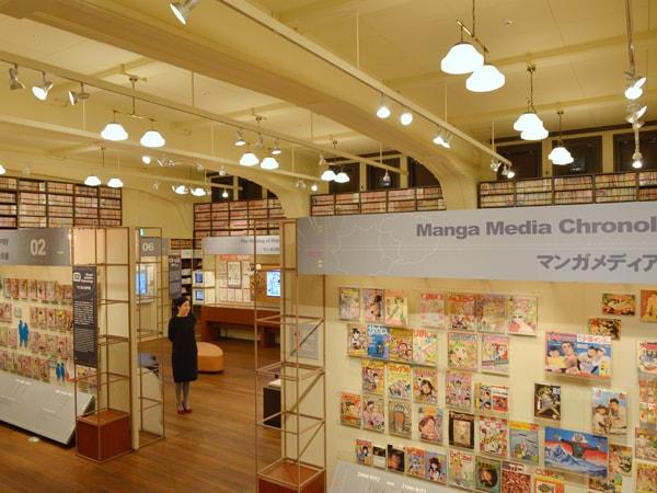 子どもの頃の夢がかなう 京都国際マンガミュージアム