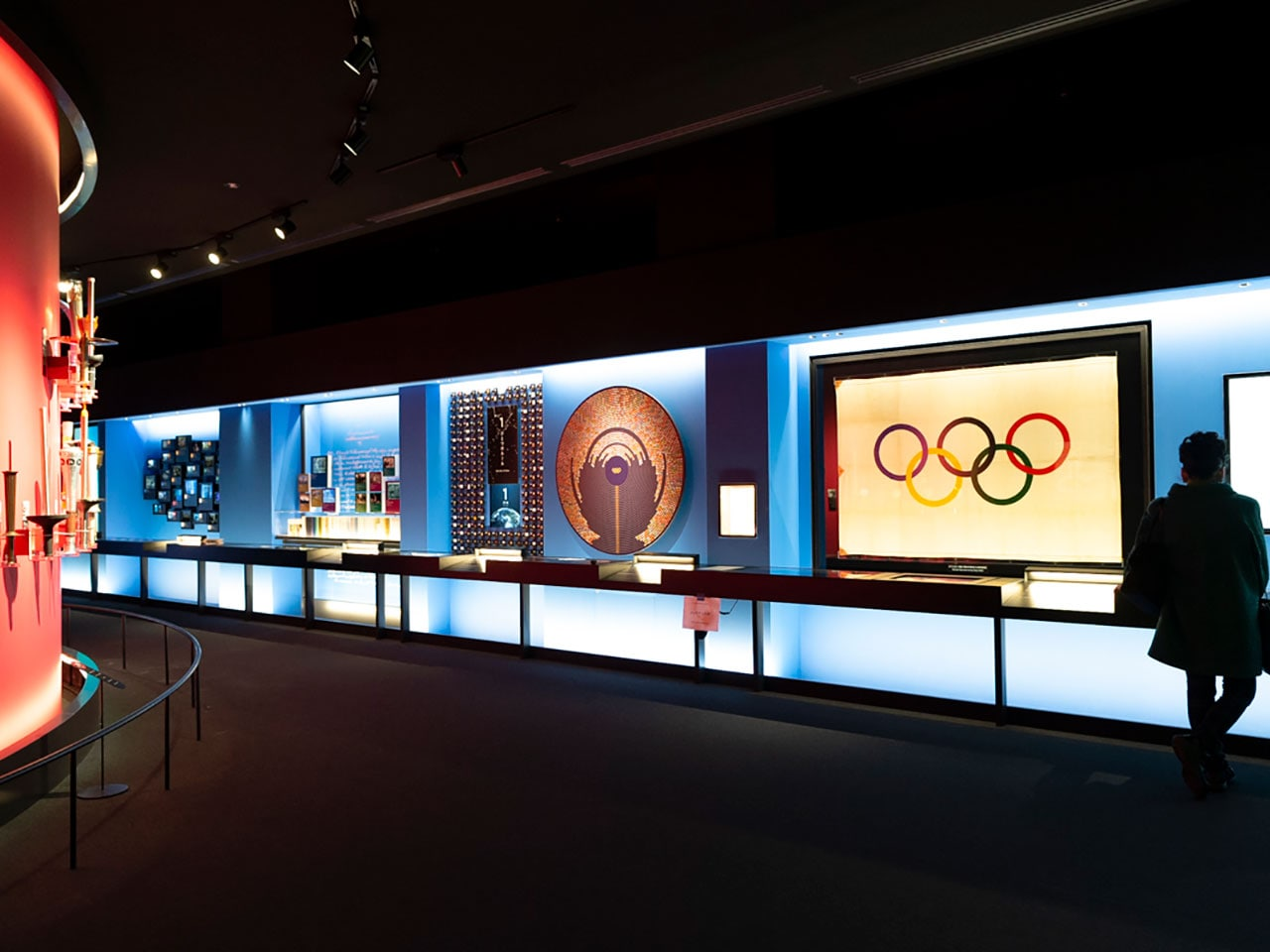 日本オリンピックミュージアム訪問記 ウサイン・ボルトの一歩に驚いた!